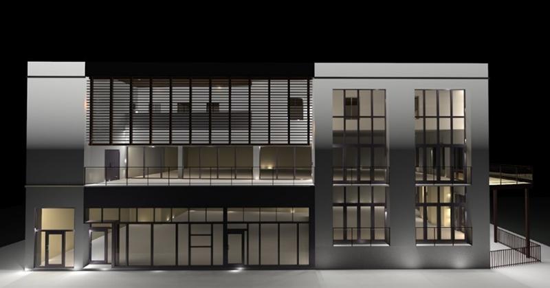 DeMaisonneuve Boulevard New Building Façade